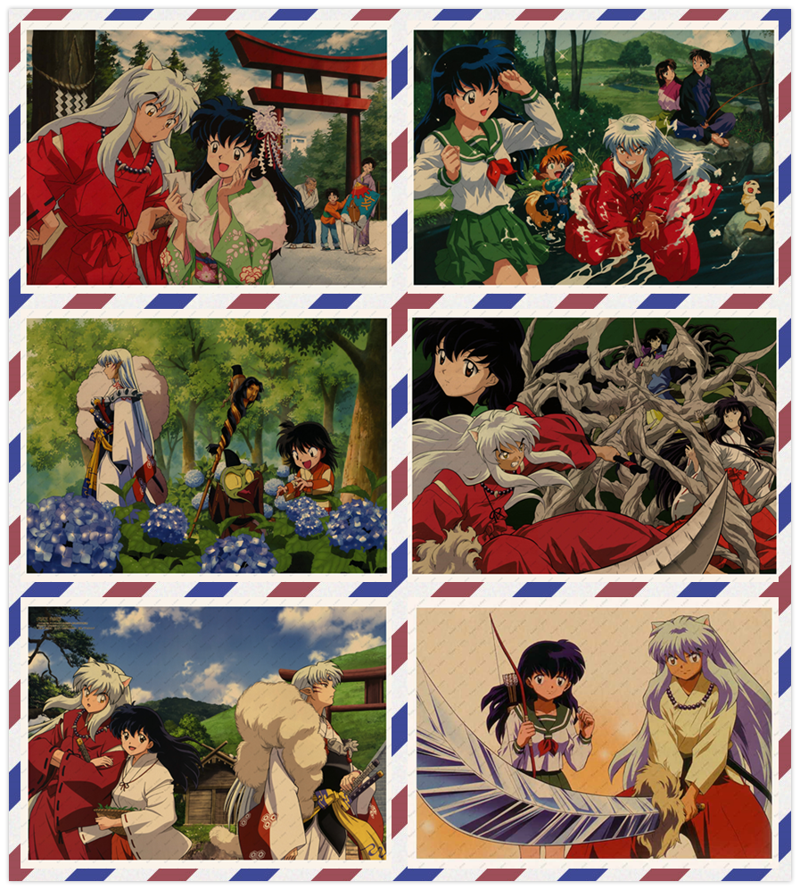 ▽ Low price for sesshomaru poster and get free shipping - Lighting Bulbs y41