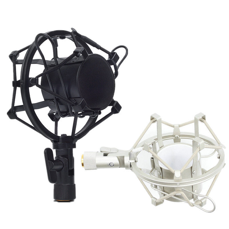 Metal Shockmonut Studio Recording Microphone Shock Mount Spider Mic Holder Clip For Broadcast Computer BM 700 800 BM-800 BM-700