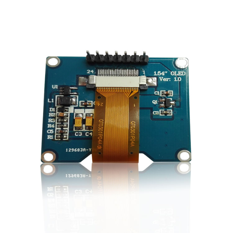 C20 SAMIORE ROBOT 1PCS 1.54 inch 7PIN White OLED Screen Module SSD1309 Drive IC Compatible for SSD1306 SPI Interface 128*64