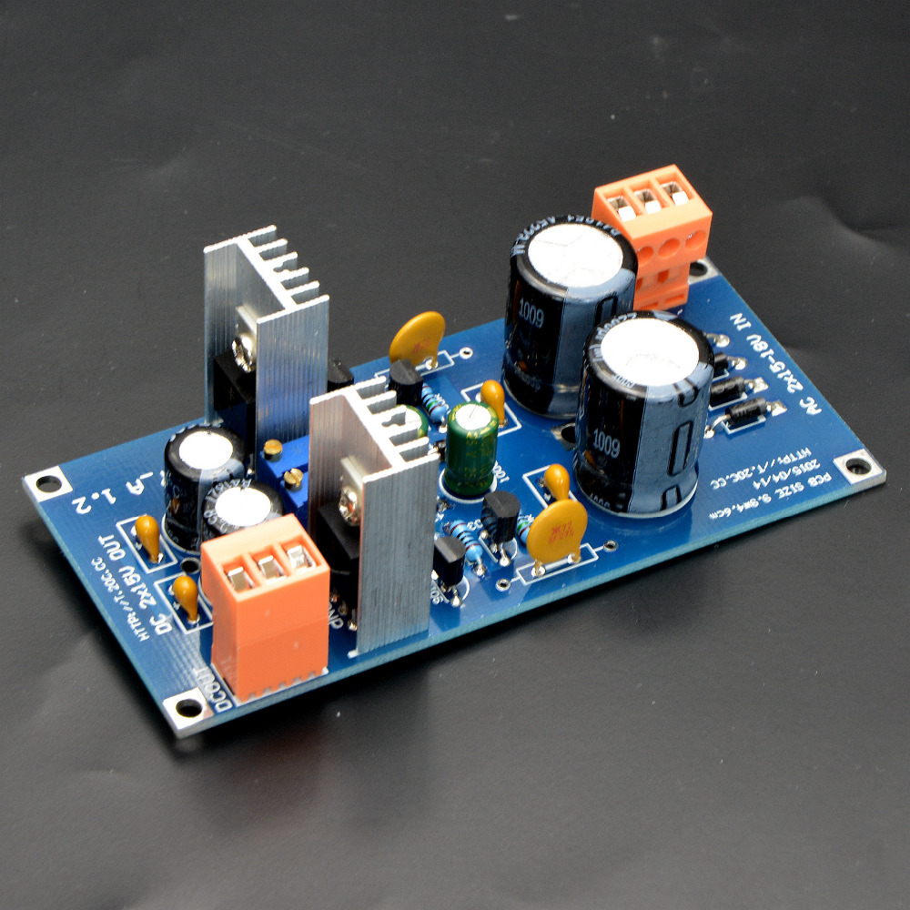 Diy Kit Discrete Analog Adjustable Regulated Power Supply Board How To Build Dual Circuit Diagram Output In Amplifier From Consumer Electronics On Alibaba Group
