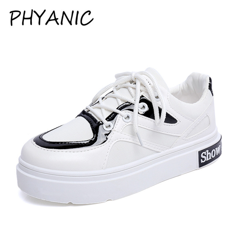 PHYANIC Summer Autumn Casual Shoes Woman Fashion Lace Up Comfort Walking Shoes Ladies Sneakers Popular Shoes Woman CFY3193