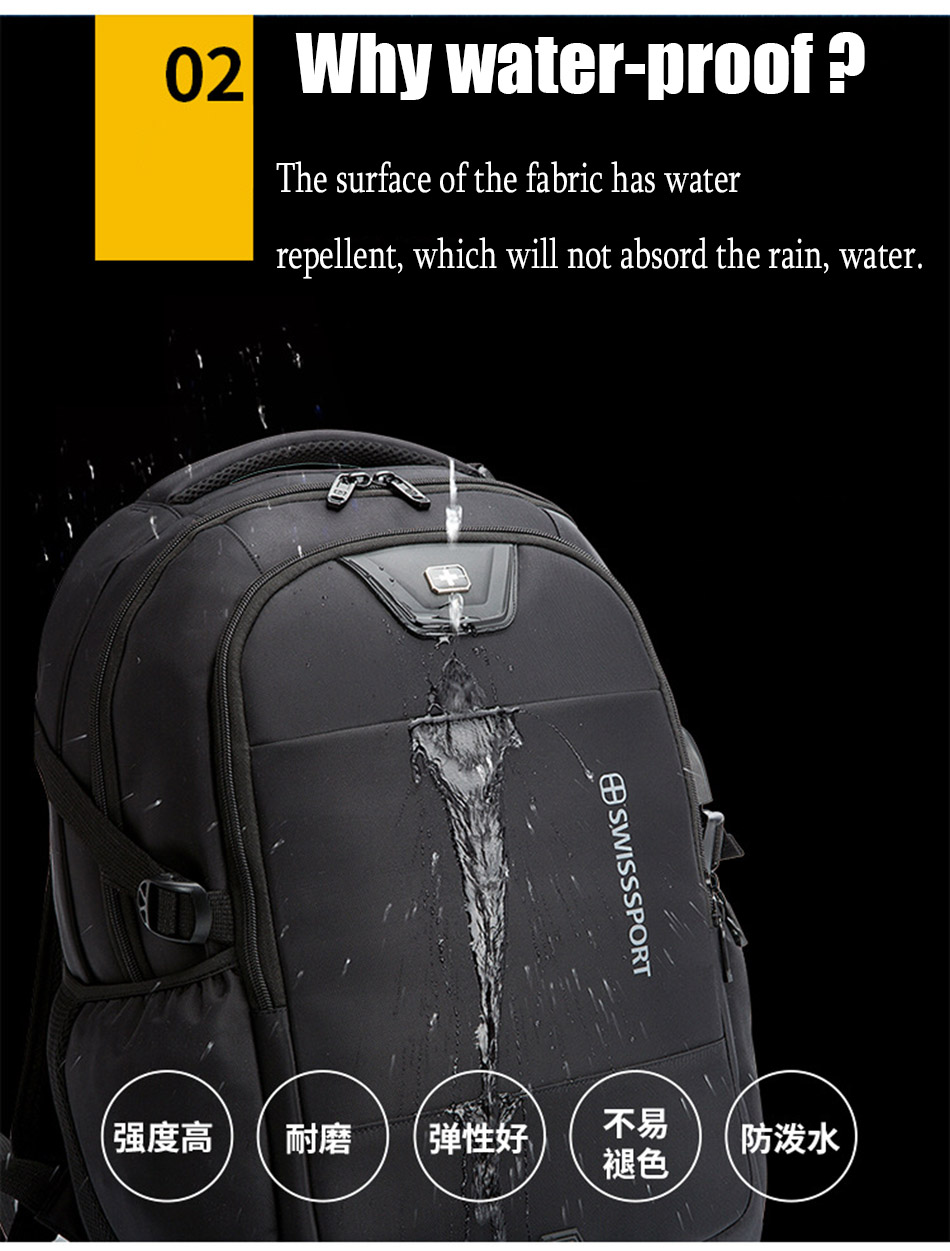 95761b006cc0 ... Men Multifunction Anti Theft Laptop Backpack USB Charge Computer  Backpacks for Women Oxford Travel Bag with ...