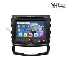 2010-2015 ssangyong korando android 6.0 del coche dvd gps con core1ghz dual-processor, radio, rds, bt, wifi, 3g, tarjeta libre 8g