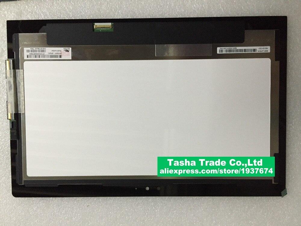הרכבה מסך מגע LCD SPA1 LP133WF3 מסך LCD למחשב נייד Toshiba P35W-B3226 לחץ 2 Pro 13.3