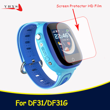 HD Glass Screen Protector Film for DF25 DF27 DF31G Baby Kids Child Smart Watch Smartwatch Accessories Wearable Devices cheap YHXS Screen Protectors Passometer Sleep Tracker Message Reminder Call Reminder Answer Call Dial Call English Russian Spanish