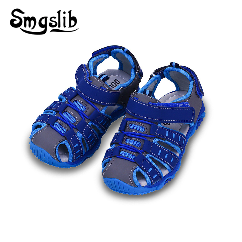 Boys Beach Sandals Children Shoes Girls Sandals 2019 Summer Toddler Pu Leather Shoes Kids Gladiator Sandals Flat Sneaker