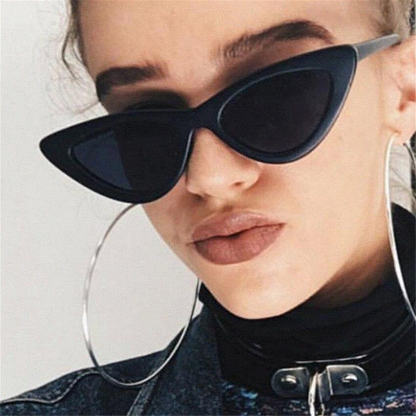 Imwete Vintage Frauen Cat Eye Sonnenbrille Retro Marke Designer Sonnenbrille Damen Cateyes Brillen UV400 Spiegel Brille Weibliche