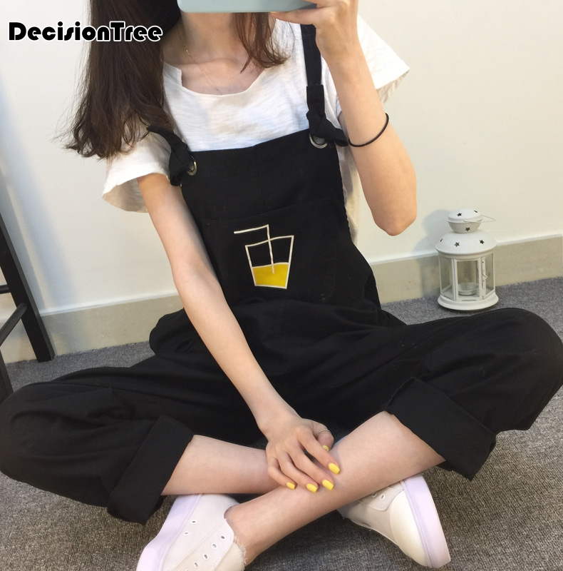 2019 new denim   jumpsuits   women ripped hole long overalls jeans   jumpsuits   feminine casual washed rompers