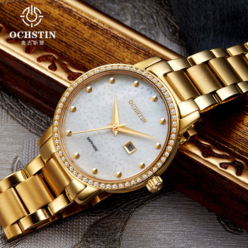 2016 Watches Women Luxury Brand Fashion OCHSTIN Dress Quartz Watch Women's Wristwatch Female Clock Montre Femme Relogio Feminino swiss fashion brand agelocer dress gold quartz watch women clock female lady leather strap wristwatch relogio feminino luxury