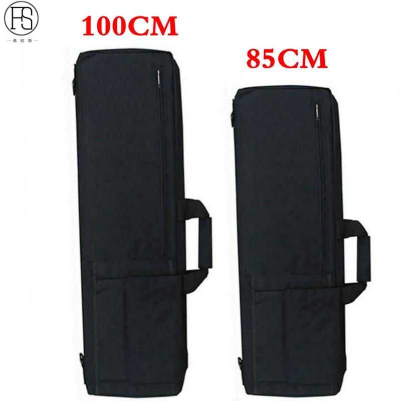 цена на 85CM / 100CM Heavy Duty Tactical Airsoft Gun Rifle Carry Case Shoulder Bag With Cushion Pads Hunting Rifle Gun Bag