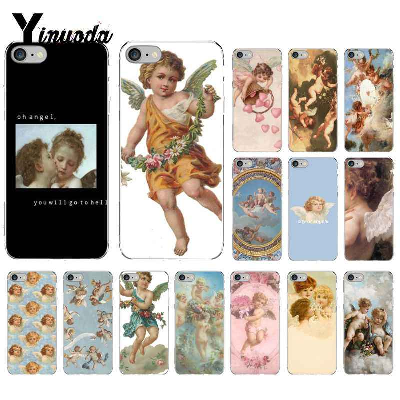Yinuoda Renaissance angels Coque Shell สำหรับ iPhone 8 7 6 6 S Plus X XS MAX 5 S SE XR 10 ฝาครอบ