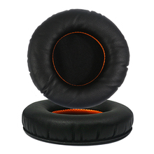 Hot Sponge Protein Leather Material Ear Pads For Steelseries Siberia 200 3.5mm Jack Headphones Earpads Replacement Headsets
