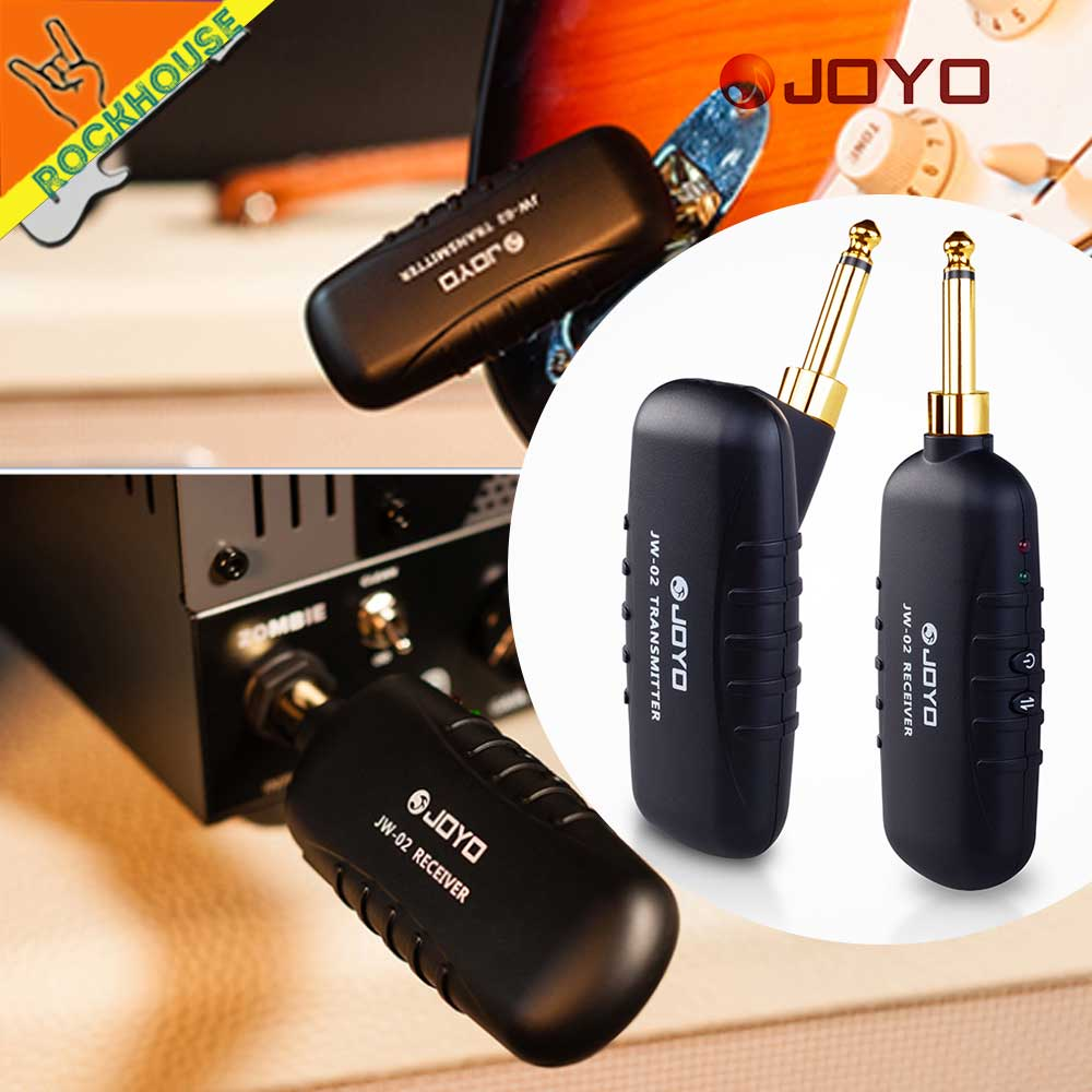 JOYO Guitar Wireless Audio Transmitter Audio Receiver guitar Bass keyboards Rechargeable low noise portability free shipping цена