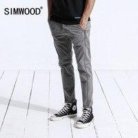 SIMWOOD New 2019 Winter Casual Pants Men Fashion Skinny Joggers Sweatpants Trousers Plus Size Brand Clothing 180442