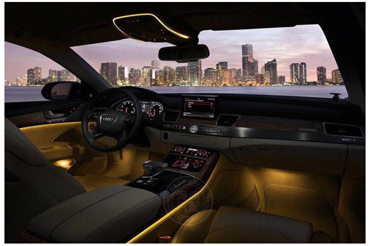 HAILAN Auto EL wire ambient lighting el cold light car interior ...