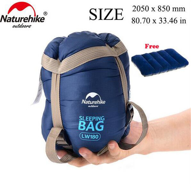 Naturehike Sleeping Bags Outdoor Camping hiking Spring Autumn Outdoor Camping Hiking Envelope Sleeping Bag 205*85cm