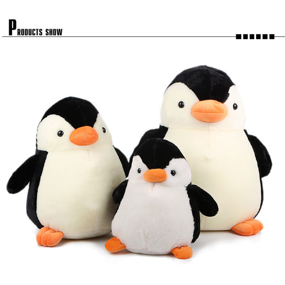 35 CM Baby Penguin Plush Toy Lovely QQ Penguin Pillow Doll Cute Soft PP Cotton Stuffed Toys For Gift Children Pillow Gift  lovely sing dance dog toy pusheen cotton soft plush hold doll antistress for children baby