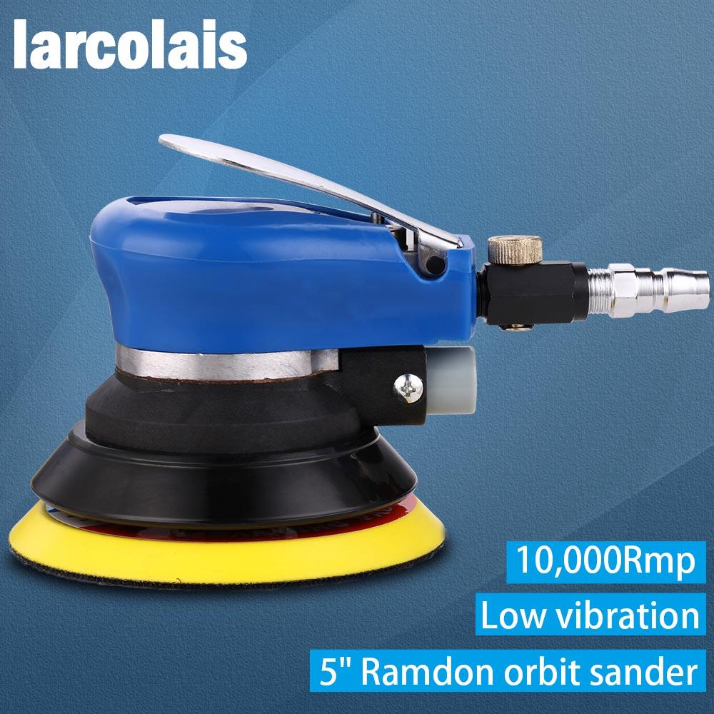 Car Polisher Low Vibration Palm Air Sander Random Orbital