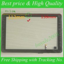 Para 10.1 pulgadas Táctil Compatible 101056-07A-V1 Tablet PC MID Táctil Capacitiva Pantalla Táctil Digitalizador PAD Reemplazo Reparación Sensor