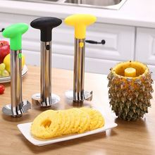 1Stainless Steel Pineapple Peeler+8Fruit Forks for Kitchen Tool Corer Cutter Fruit Knife Cutter Paring Knife Kitchen Accessories