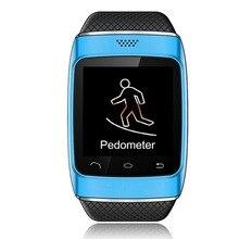 บลูทูธซิงค์ป้องกันการสูญเสียสัมผัสดูสมาร์ทสำหรับip hone A Ndroid G-Sensor Pedometer 1.54นิ้วหน้าจอCapacitive FMวิทยุสนับสนุน