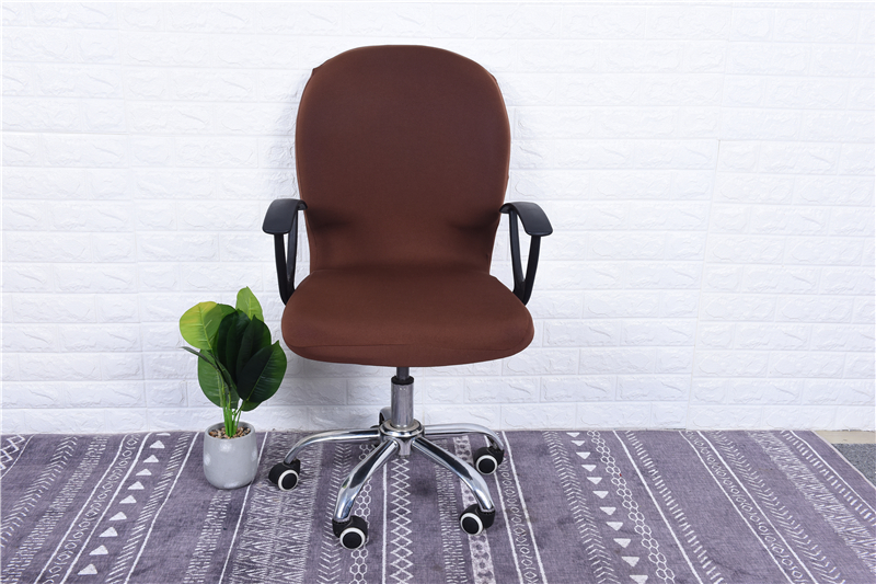 Elasticity Office Computer Chair Cover Side Arm Chair Cover Recouvre Chaise Stretch Rotating Lift Chair Cover Without Chair (25)