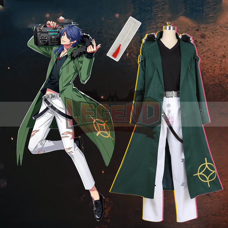 Division rap battle HypnosisMic DRB Dead or Alive Dice Arisugawa cosplay costume custom made