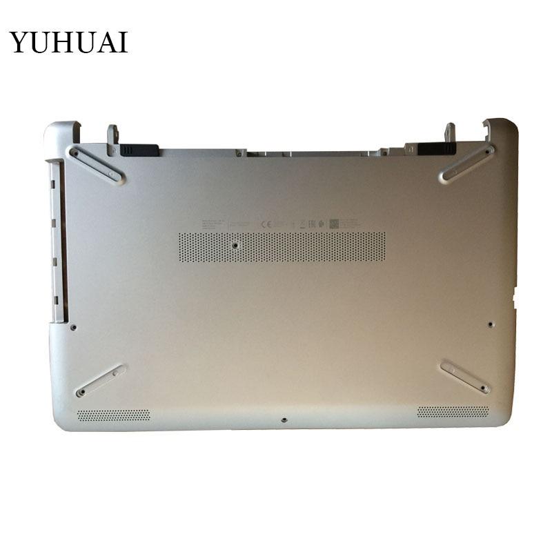 NEW Laptop Bottom case cover for HP 15T 15Z 15-BR-BS-BU-BW 250 255 256 G6 L03442-001 AP2040001C1 TPN-C129 C130 silver D shell new laptop base bottom case d cover for hp for enny 15t aa 15t ae 15t ae000 bottom shell ap1do000c00 812673 001