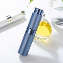 Ag garrafa de perfume de alumínio para viagem, garrafa de viagem portátil vazia para cosméticos