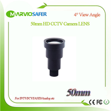 Marviosafer 50MM HD CCTV IP Network/AHD/CVI/TVI Camera Lens M12*0.5 Mount 8 degree View Angle, Long Distance Monitor