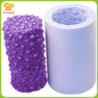 Cake Decorating Tools Mold Bubble Silicone Mold Cylinder Soap Mold Candle Molds Diy Handmade Chocolate Jelly