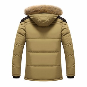 Image 5 - Мужская Повседневная парка BOLUBAO, однотонная теплая Толстая куртка на молнии с капюшоном, пальто для зимы