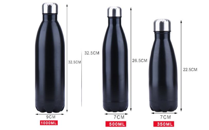 1405eb705e 500ml Stainless Steel Thermo Water Bottle Thermal Cold Cup Outdoor ...