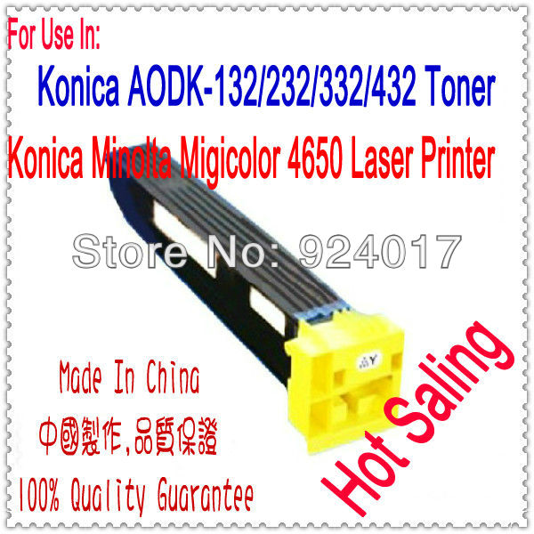 Toner Cartridge For Konica Minolta magicolor 4650 4650DN 4650EN 4690MF 4695MF Copier,For Konica 4650 4650DN 4650EN 4690MF Toner toner reset chip for minolta magicolor 3730 eu