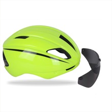 Free shipping Ultralight Integrally-molded Road Cycling Bicycle Helmet 56-61cm Road/TT/Track Cycling helmet with sun glass