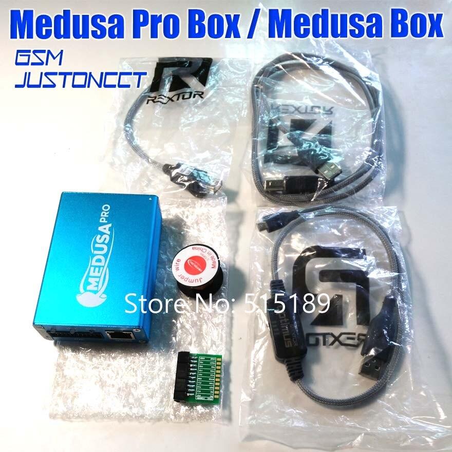 100% D'ORIGINE Medusa PRO Boîte Medusa Boîte + JTAG Clip MMC Pour LG Pour Samsung Pour Huawei avec Optimus câble