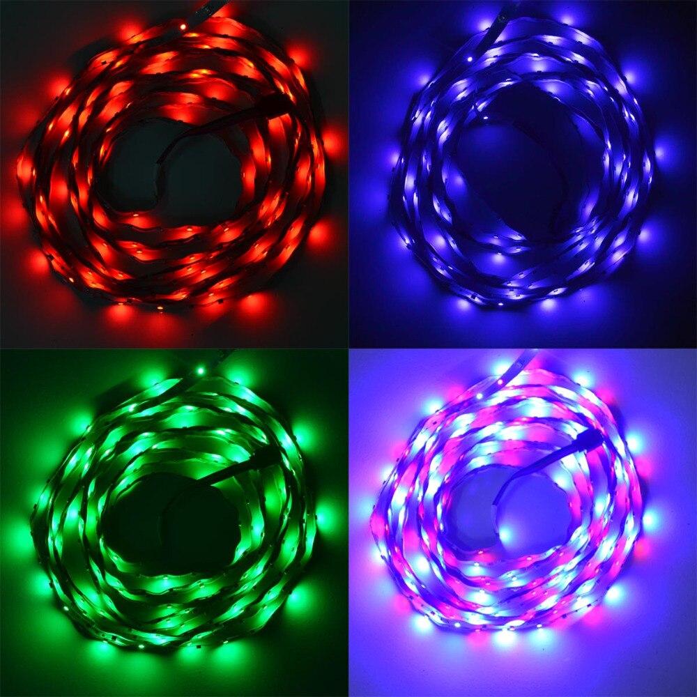 500CM 25W 300X3528 SMD RGB LED şeridi işıq W / Uzaqdan idarəedici - LED işıqlandırma - Fotoqrafiya 6
