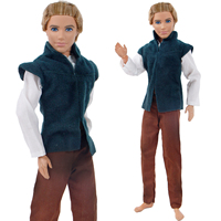 06c6a4029f849 Handmade Prince Outfit Suit Jacket Pants Daily Dress Clothes For Barbie  Doll Ken Accessories Toy Cosplay