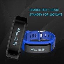 2017 SKR01 Smart Bracelet IP68 Waterproof Wristband Fitness Tracker Android Heart rate Smartband PK xiaomi mi band 2 ID107 ID115