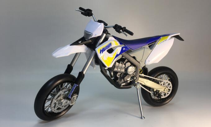 Bulk 1:12 KTM HUSABERG 2010 FS570 alloy frame for mountain cross-country motorcycle model