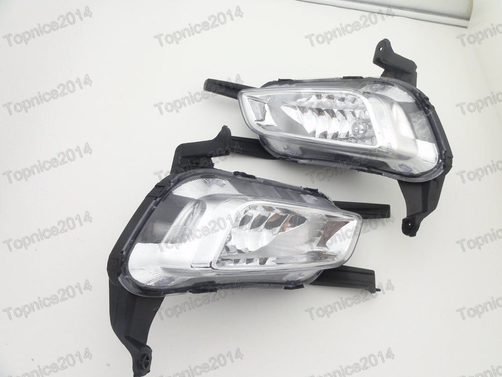 1Pair New Fog Lights Front bumper Halogen fog lamps For Kia Optima K5 2014-2015