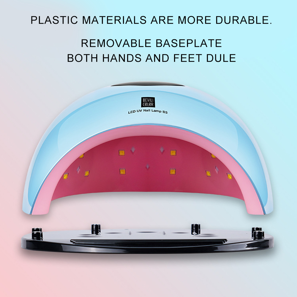 80W UV Led Lamp Nail Dryer for Manicure SUN Light Lamp