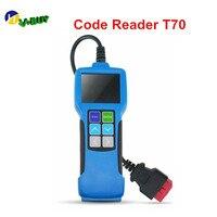 DHL5pcs Diagnostica Scanner T70 per Tutti I OBD2 & Eobd & Jobd Auto con Grande Schermo a Colori E Multilingue