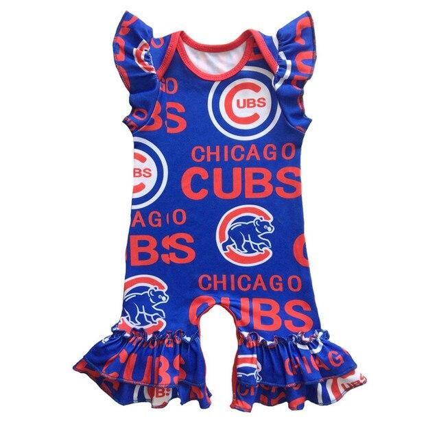 d959b796d62f Summer New Newborn Outfits Flutter Sleeve Rompers Girls Clothes ...
