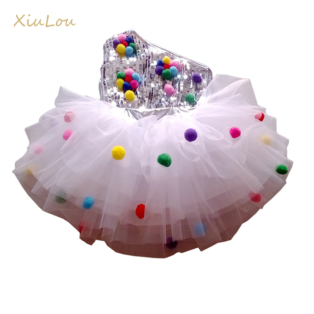 childrens dance stage costume for girls modern kids jazz dance costumes sequin clothes for salsa contemporary dance dress girls