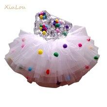 Çocuk dans sahne kostüm kızlar için modern çocuk caz dans kostümleri pullu elbise salsa için çağdaş dans elbise kız