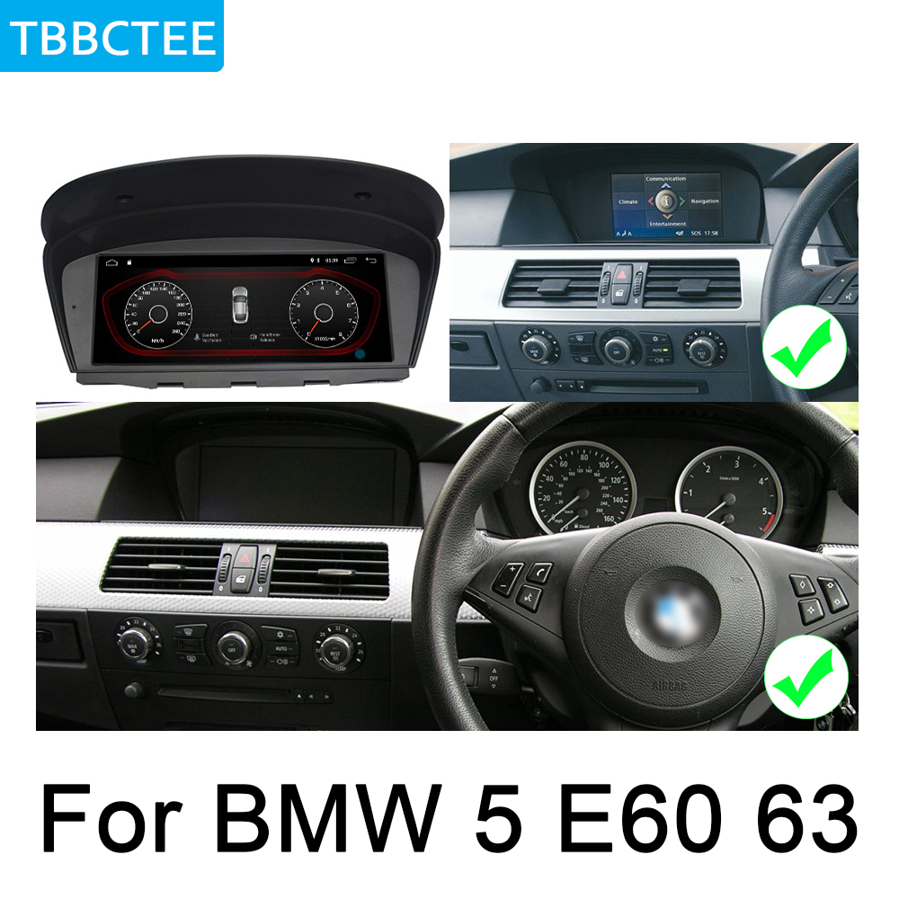 For BMW 5 E60 E61 2002 2008 CCC Android Car radio GPS multimedia player Navigation WiFi BT Multimedia Player Auto Radio Map in Car Multimedia Player from Automobiles Motorcycles