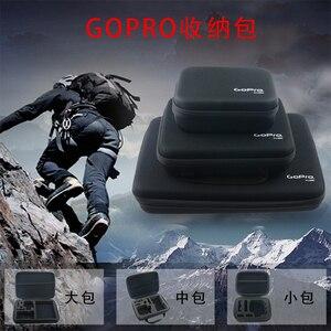 Image 5 - LANBEIKA Cho Gopro 3 Size Nylon Di Động Lưu Trữ Bộ Sưu Tập Túi Dành Cho GoPro Hero 9 8 7 6 5 4 SJCAM SJ5000 SJ9 SJ6 SJ8 DJI YI