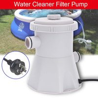 230V Electric Swimming Pool Filter Pump for Above Ground Pools Cleaning Tool JDH99
