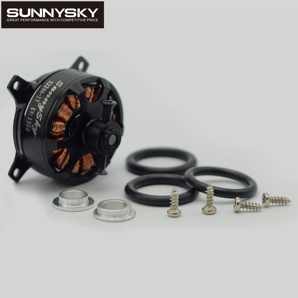 1pcs Sunnysky X2206 1500KV/1900KV Outrunner Brushless Motor 2206 for RC Quadcopter Multicopter 2403 rc brushless outrunner sparrow hobby motor 1500kv 1800kv for f3p 3d airplane